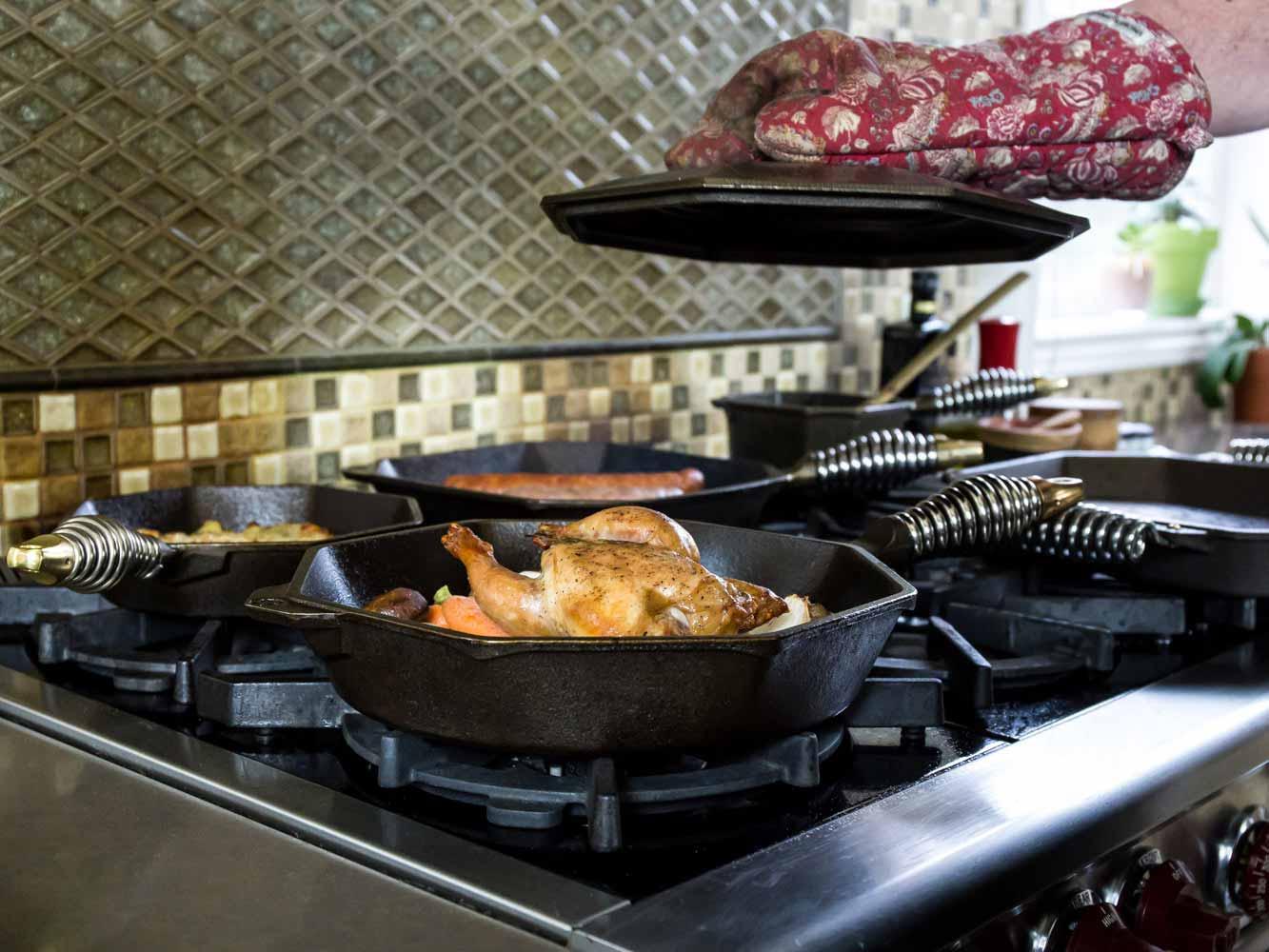 FINEX Cast Iron Cookware Complete Cast Iron Set