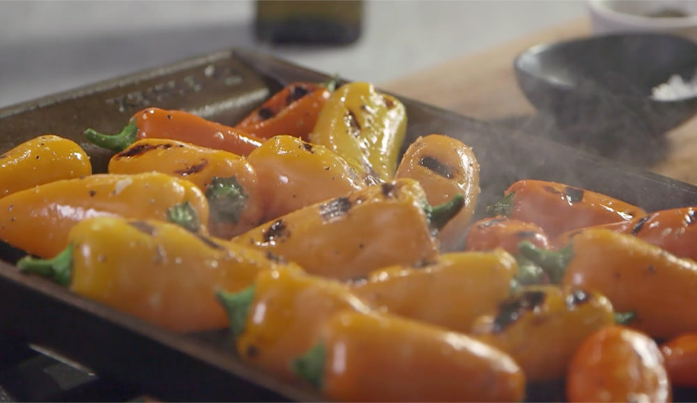 FINEX Brand Asset Preview - Grill Pan Peppers