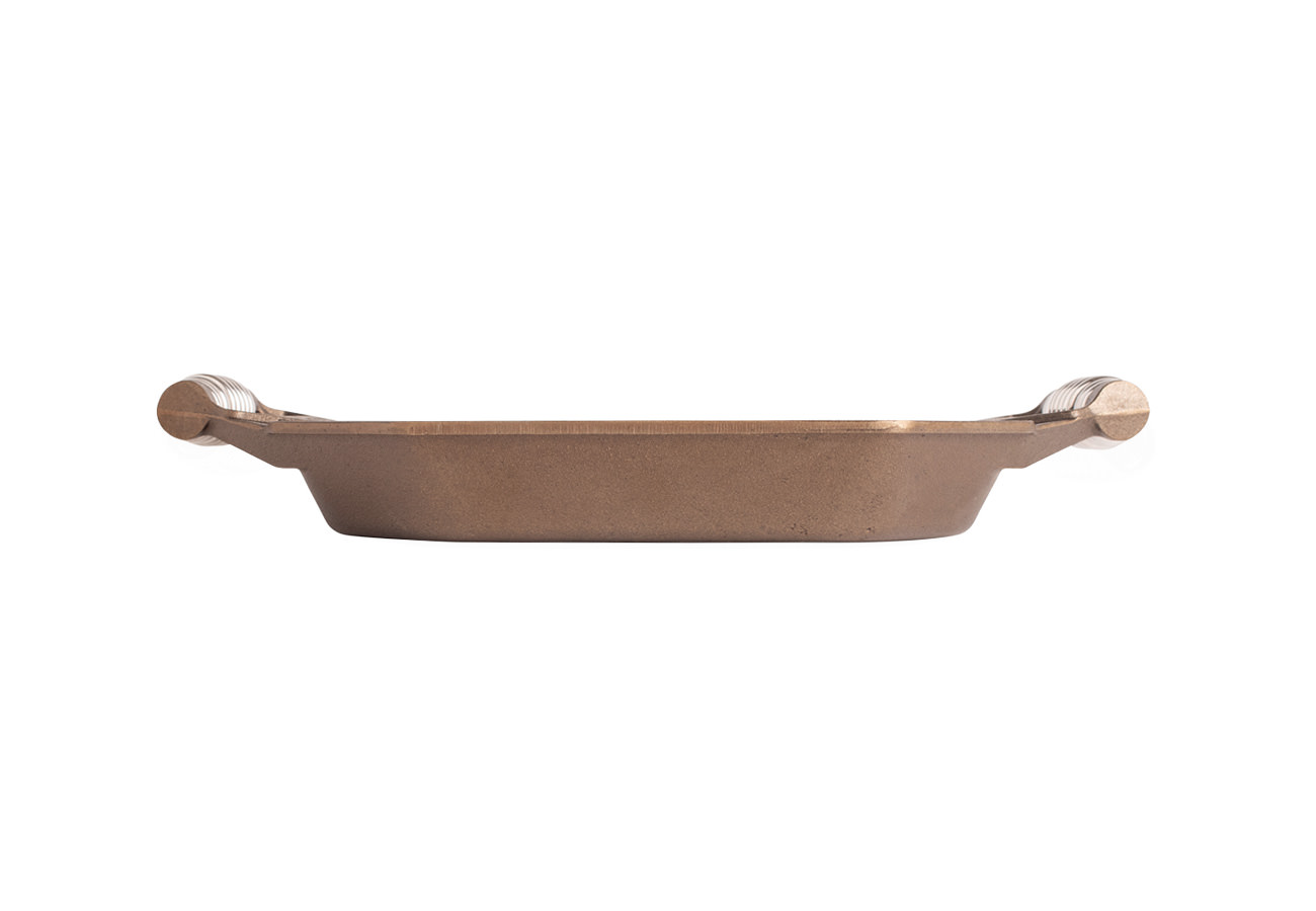 """FINEX 12"""" Grill Pan - side view"""