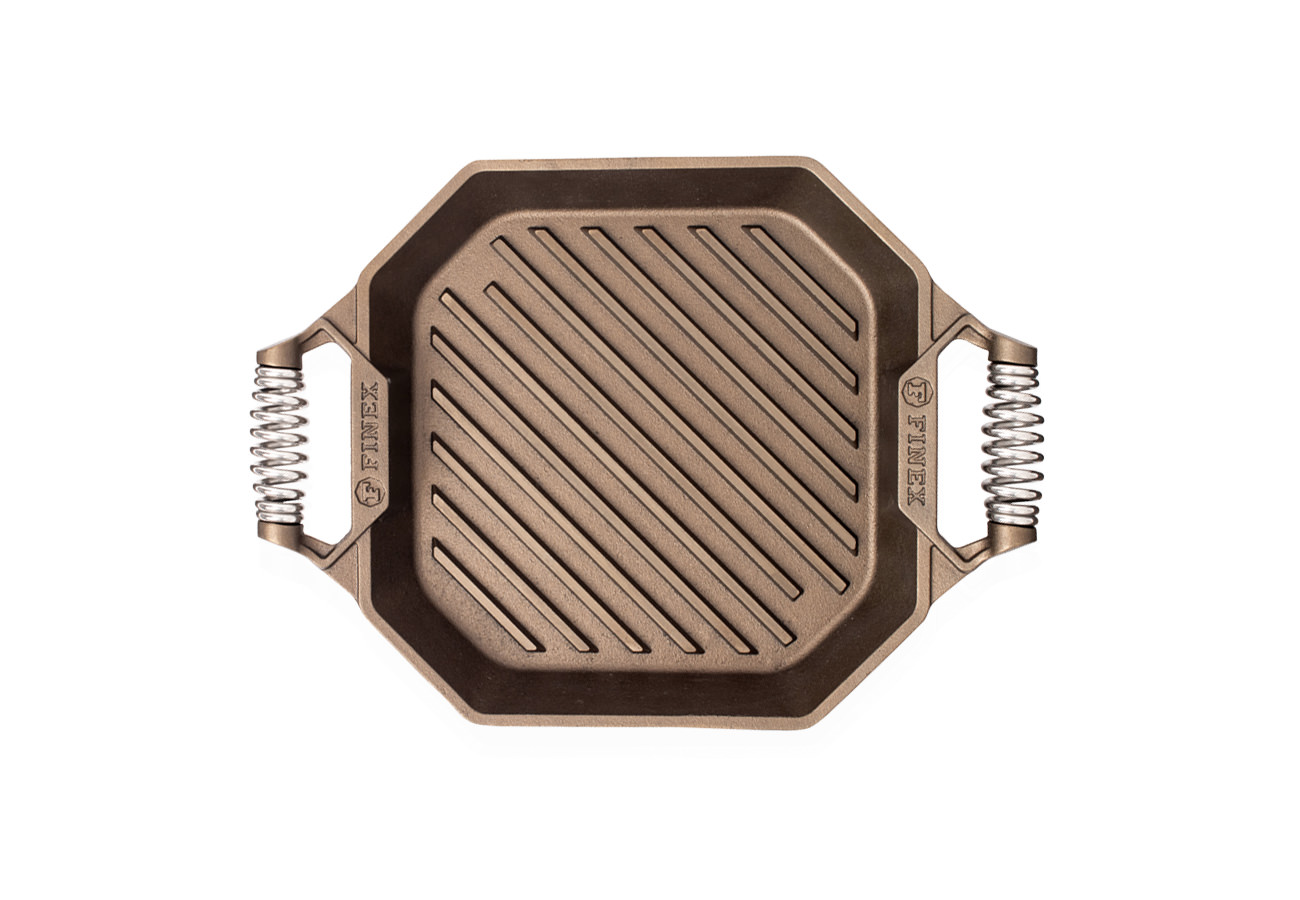 """FINEX 12"""" Grill Pan - top view"""