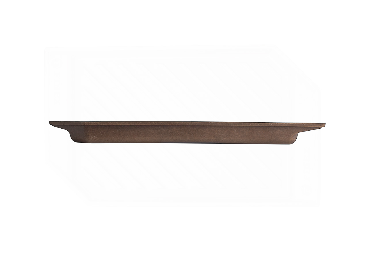 """FINEX 15"""" Grill Pan - side view"""