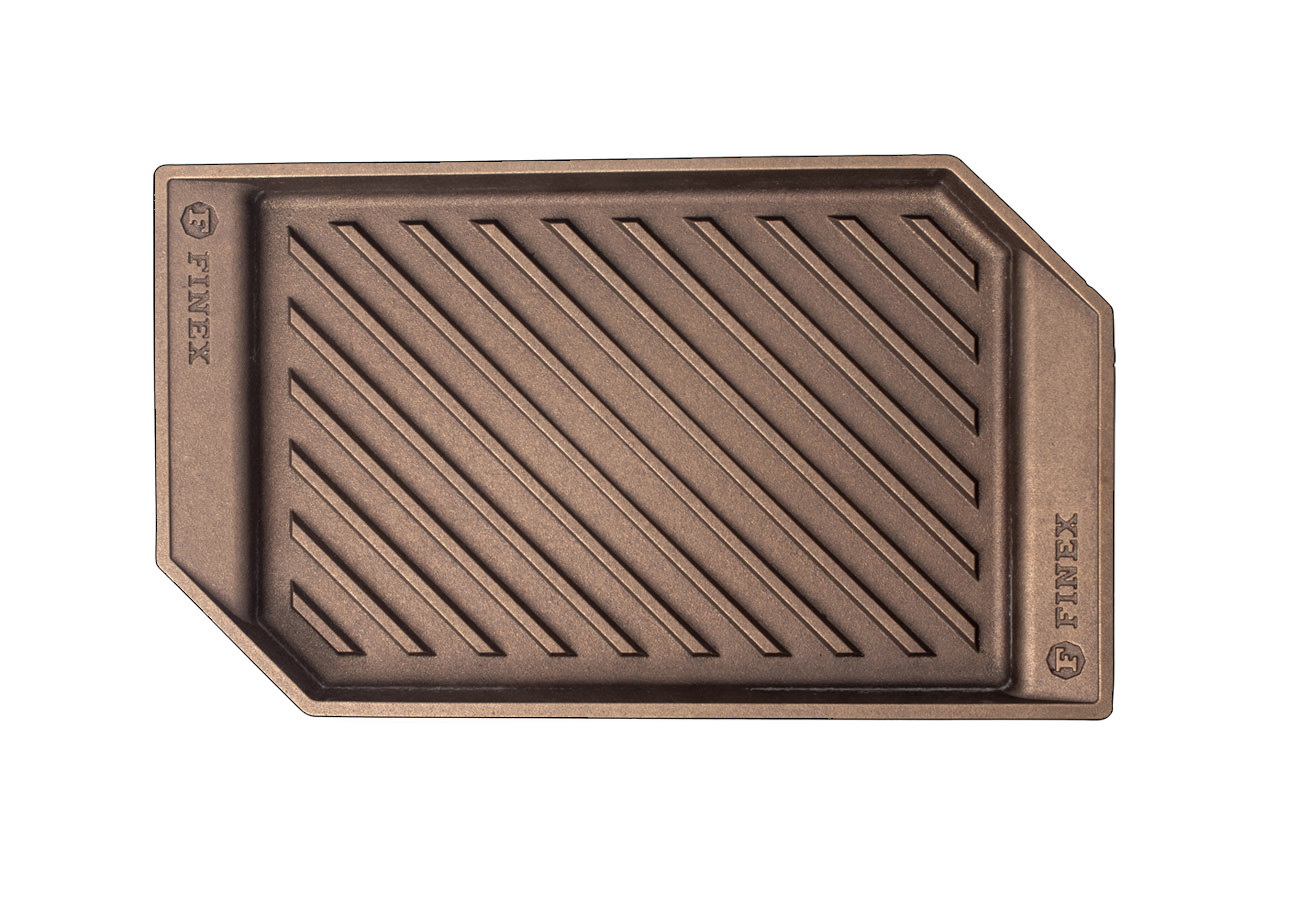 """FINEX 15"""" Grill Pan - top view"""