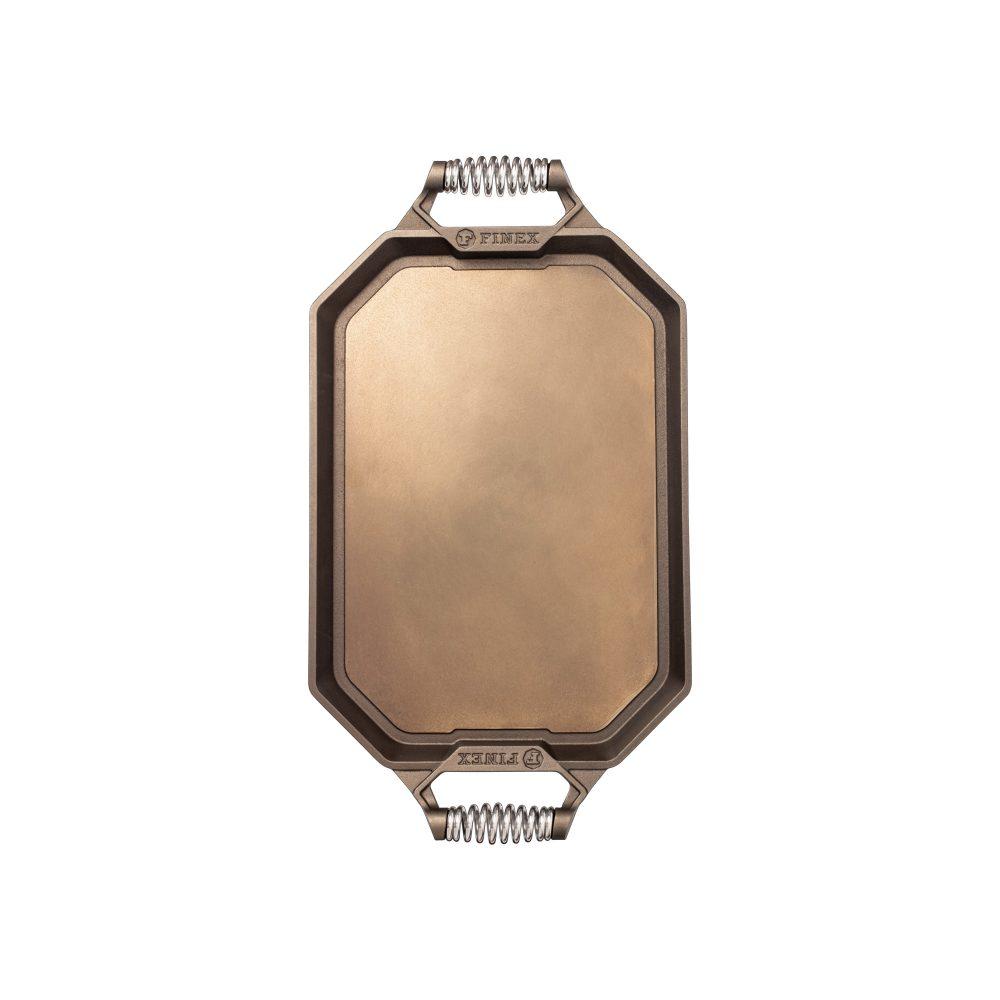 finex 18 inch cast iron griddle top
