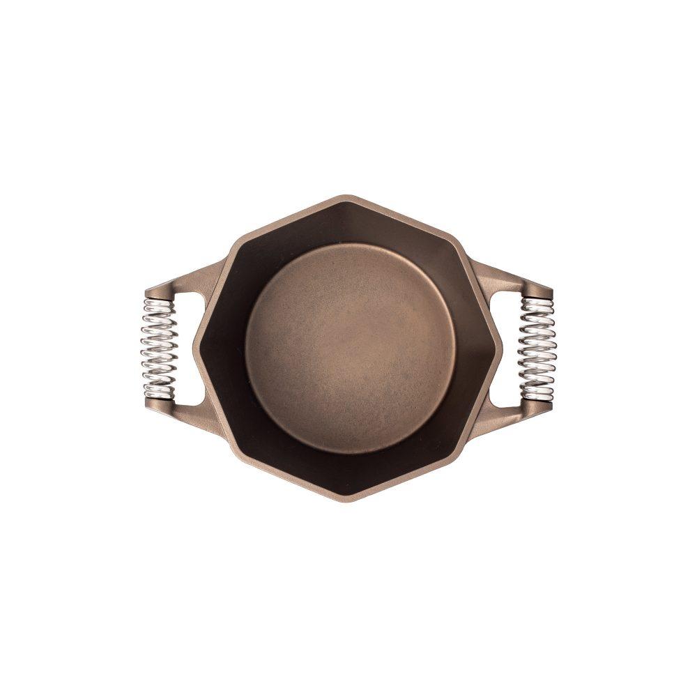 finex 5 quart cast iron dutch oven without lid
