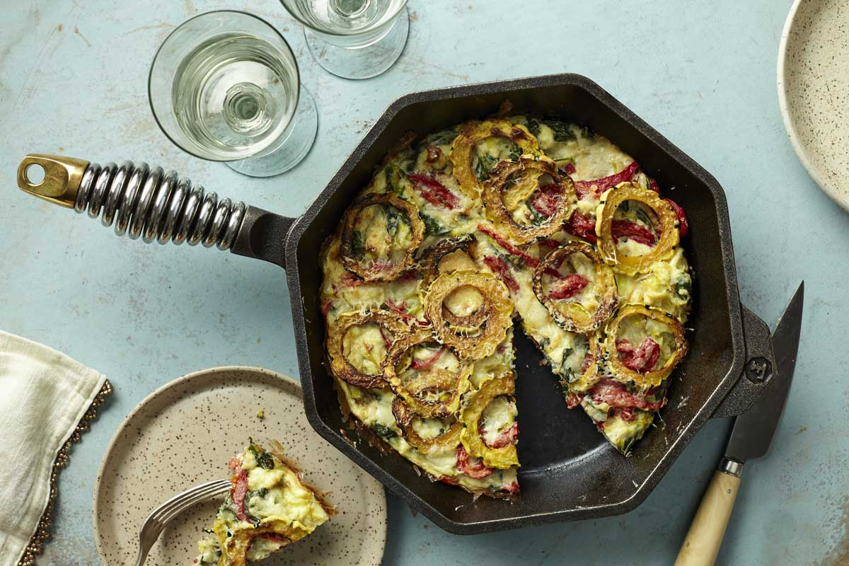 FINEX delicata frittata recipe